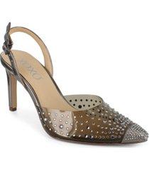 xoxo women's lilly translucent dress heel women's shoes