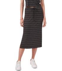1.state women's side slit front tie skirt