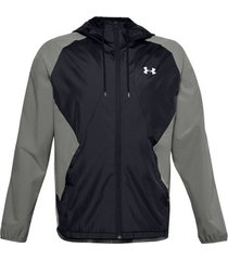 trainingsjack under armour stretch hooded zip jacket
