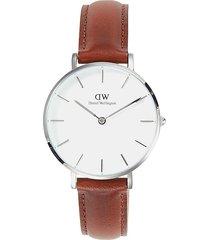 daniel wellington petite cornwall stainless steel watch