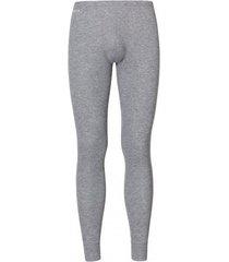odlo legging mens warm grey melange-m