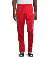 champion men's snap-side pants - red - size xxl