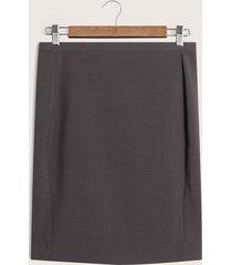 falda clasica unicolor-10