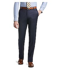 1905 collection slim fit flat front men's suit separate pants - big & tall by jos. a. bank