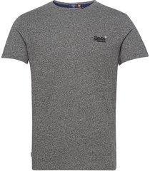 ol vintage emb tee t-shirts short-sleeved grå superdry