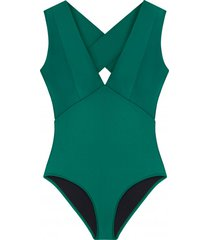 strój kąpielowy dinah emerald