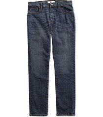 tommy hilfiger adaptive men's straight fit drake jeans with magnetic zipper