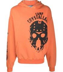 formy studio camp crystal lake hoodie - orange
