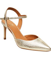 pumps 4595 shoes heels pumps sling backs guld billi bi