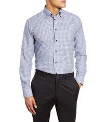 men's eton slim fit gingham dress shirt