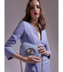 motivi borsa in pelle smart couture donna blu