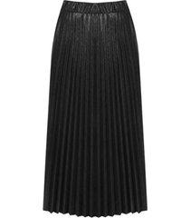 lange plisse rok kleur (95551)