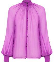 camisa feminina deusa - roxo