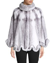 made for generation mink fur cape