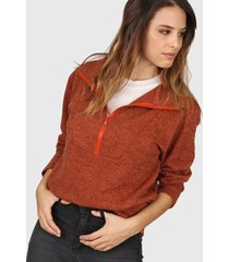 sweater marrón  felisa rin