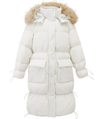 194186-100 | quilted down jacket | white - s