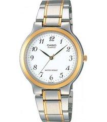 reloj kcasltp 1131g 7b casio-plateado