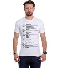 camiseta javali branca eskala