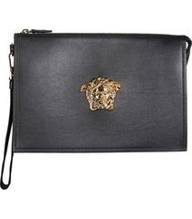 versace large the medusa pouch