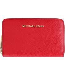 michael michael kors micro leather wallet