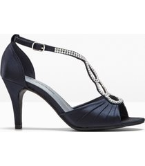 sandali  con tacco (blu) - bpc selection premium