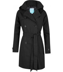 happyrainydays regenjas trenchcoat zipper madonna midnight blue-xxxl