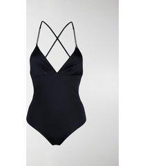 stella mccartney tie-fastening back swimsuit