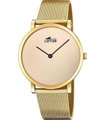 reloj 18772/1 minimalist dorado lotus