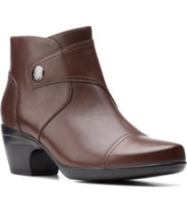 clarks collection women's emily calle booties women's shoes