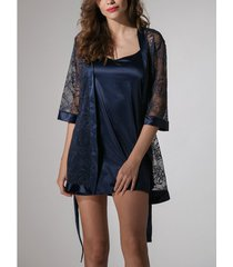 pyjama's / nachthemden luna kimono prestige rôse
