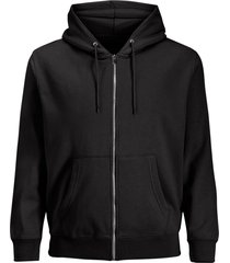 huvtröja jjesoft sweat zip hood ps