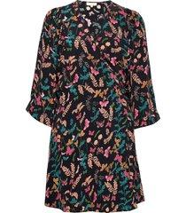 pre spring kimono dress korte jurk multi/patroon by ti mo