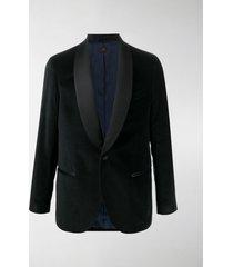 mp massimo piombo velvet smoking jacket