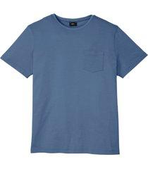 t-shirt med ficka