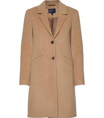 d1. classic tailored coat yllerock rock beige gant