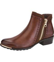 boots med utbytbar onair-fotbädd caprice konjak
