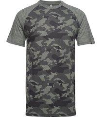 camo merino wool tee t-shirts short-sleeved grön bula