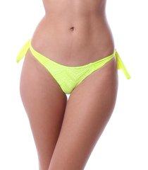 calcinha simony lingerie cavada lycra beach neon verde