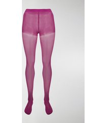 junya watanabe high-waist semi-sheer tights