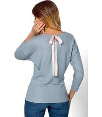bluzka mia exclusive błękitna