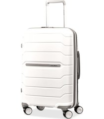 "samsonite freeform 21"" carry-on expandable hardside spinner suitcase"