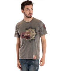 camiseta bã¡sica konciny manga curta cinza - cinza - masculino - dafiti