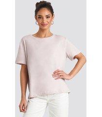 na-kd basic basic oversize t-shirt - pink