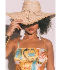 akira shell shocked straw hat