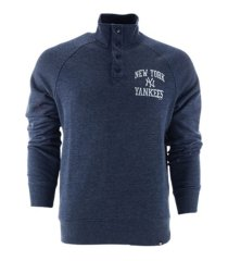 '47 brand new york yankees men's capacity quarter snap pullover
