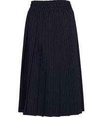 serafina knälång kjol blå baum und pferdgarten