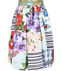 dolce & gabbana multicolor skirt for girl