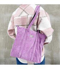sztruksowa torba shopper lilia