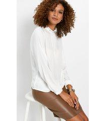 blouse met applicatie