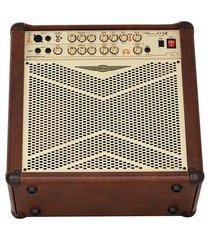 cubo amplificador para violão 1x12 pol 80w oneal ocv-312-mr marrom